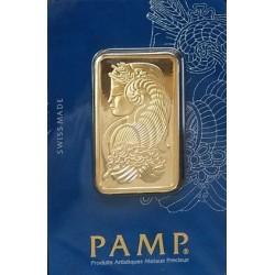 1 oz Gold Bar - PAMP Suisse Lady Fortuna - Veriscan (In Assay) - .9999 fine bullion
