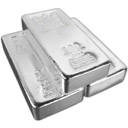 100 oz Silver Bar - 999 fine - Random Design, Secondary Market