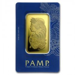 100 gram Gold Bar - PAMP Suisse Lady Fortuna - Veriscan (In Assay) - .9999 fine bullion